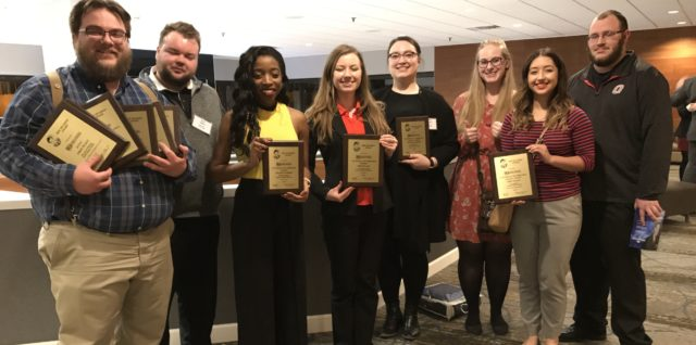 MavRadio Earns Four Eric Sevareid Awards at the Midwest Journalism Conference