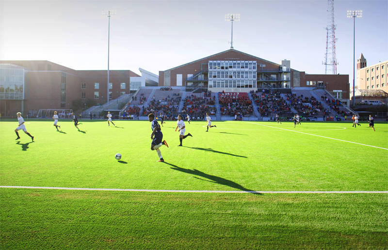 Al F. Caniglia Field at UNO. (Courtesy UNO Athletics)